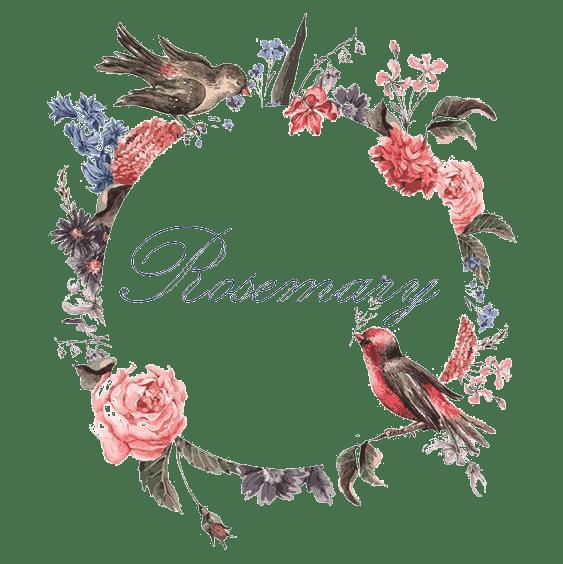 Rosemary - украшения из эпоксидной смолы с настоящими сухоцветами